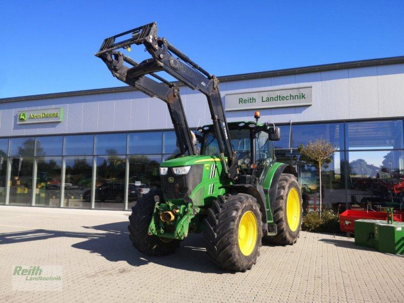 Traktor des Typs John Deere 6190 R, Gebrauchtmaschine in Langweid am Lech  (Bild 1)