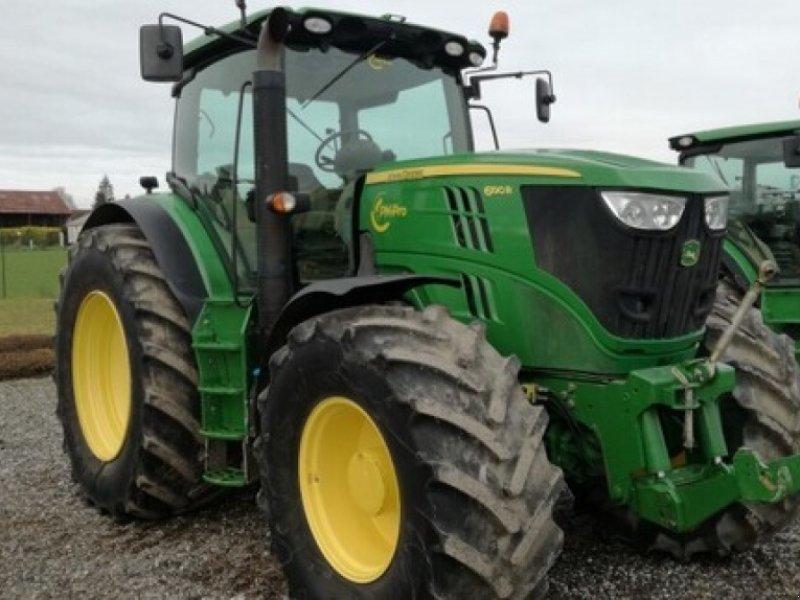 Traktor des Typs John Deere 6190 R, Gebrauchtmaschine in Feuges (Bild 1)