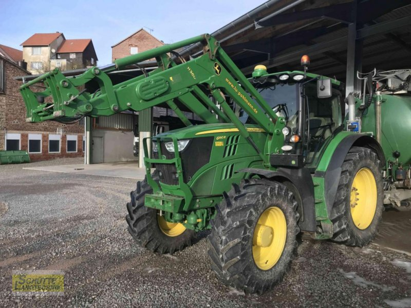 Traktor типа John Deere 6190 R, Gebrauchtmaschine в Marsberg-Giershagen (Фотография 1)