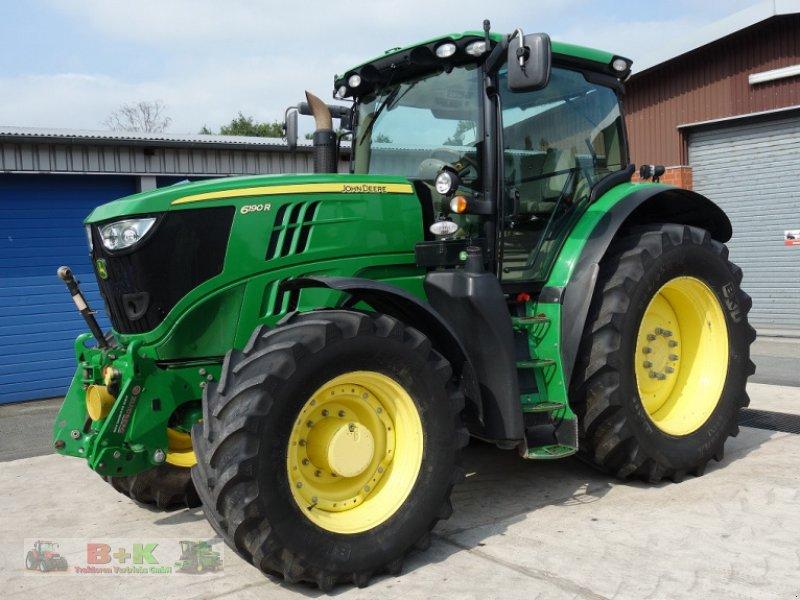 Traktor des Typs John Deere 6190 R, Gebrauchtmaschine in Kettenkamp (Bild 1)
