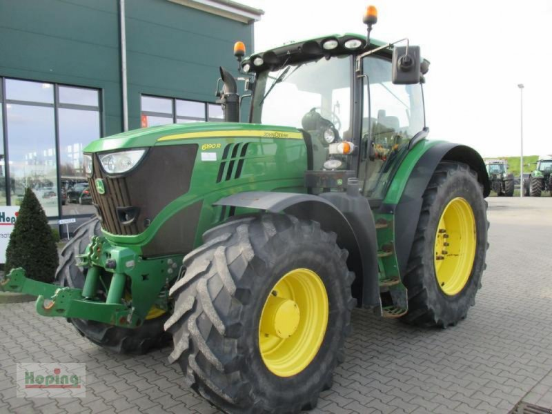 Traktor des Typs John Deere 6190 R, Gebrauchtmaschine in Bakum (Bild 1)
