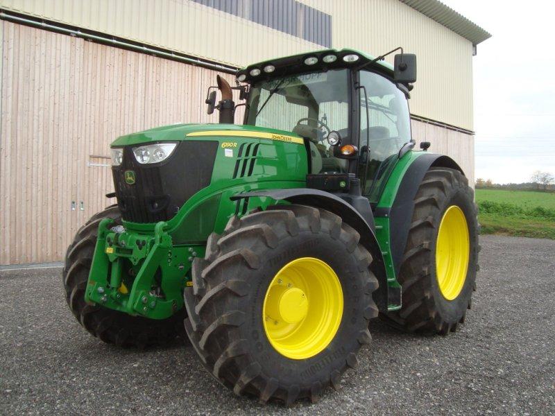 Traktor des Typs John Deere 6190 R, Gebrauchtmaschine in Emskirchen (Bild 1)