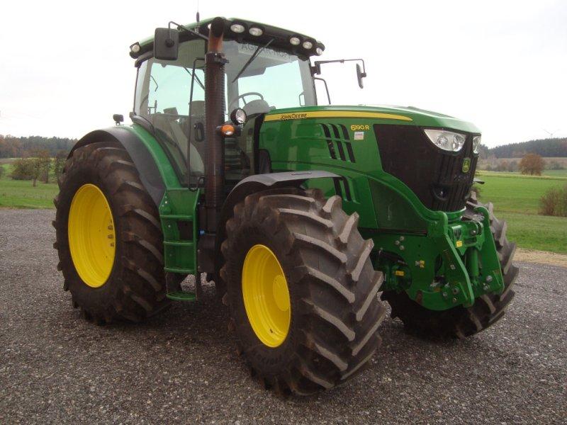 Traktor des Typs John Deere 6190 R, Gebrauchtmaschine in Emskirchen (Bild 2)