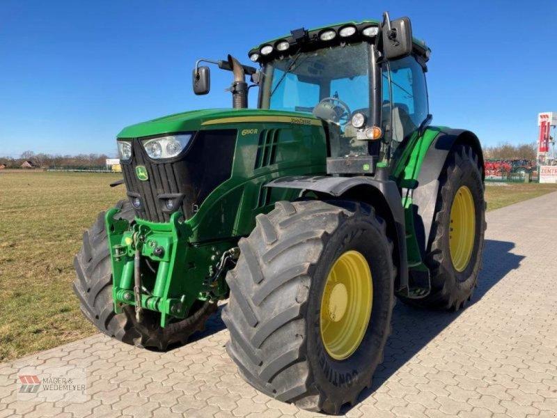 Traktor des Typs John Deere 6190R MIT LENKSYSTEM, Gebrauchtmaschine in Oyten (Bild 1)