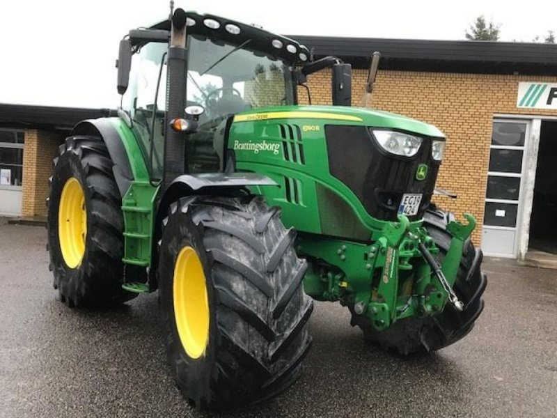 Traktor des Typs John Deere 6190R Premium Autopower Frontlift, Gebrauchtmaschine in Toftlund (Bild 1)
