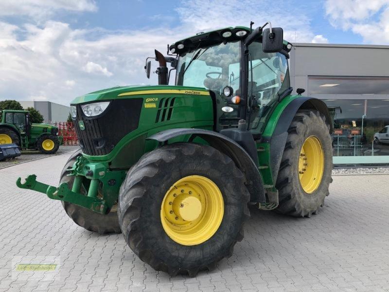 Traktor des Typs John Deere 6190R, Gebrauchtmaschine in Gronau (Bild 1)