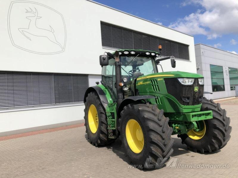 Traktor des Typs John Deere 6190R, Gebrauchtmaschine in Schopsdorf (Bild 1)