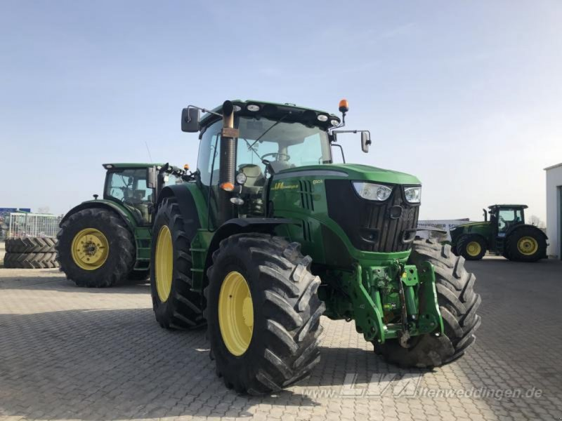 Traktor типа John Deere 6190R, Gebrauchtmaschine в Schopsdorf (Фотография 1)
