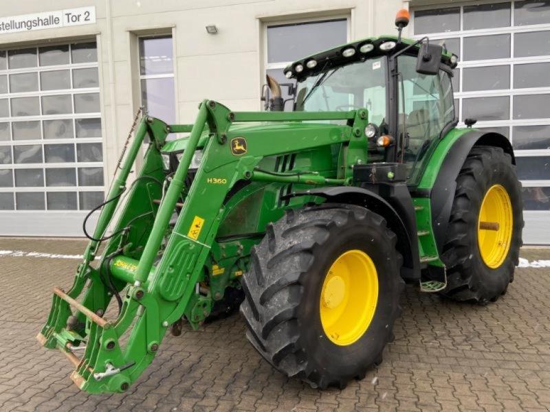Traktor des Typs John Deere 6190R, Gebrauchtmaschine in Landsberg (Bild 1)