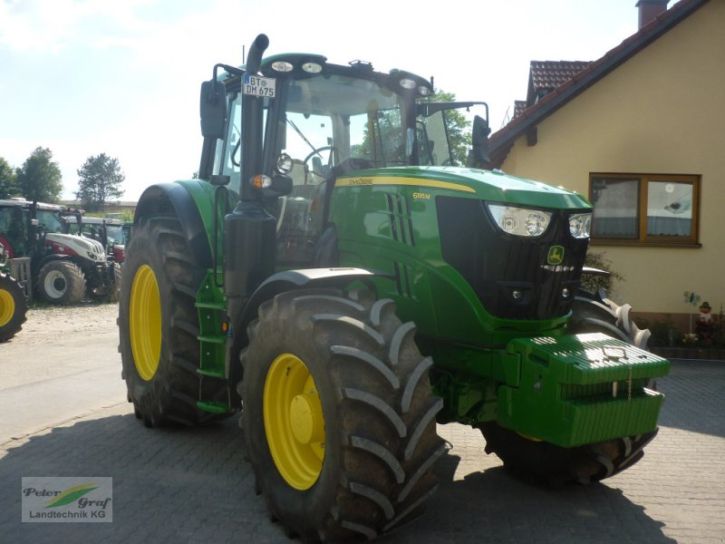 Traktor tipa John Deere 6195 M, Gebrauchtmaschine u Pegnitz-Bronn (Slika 1)