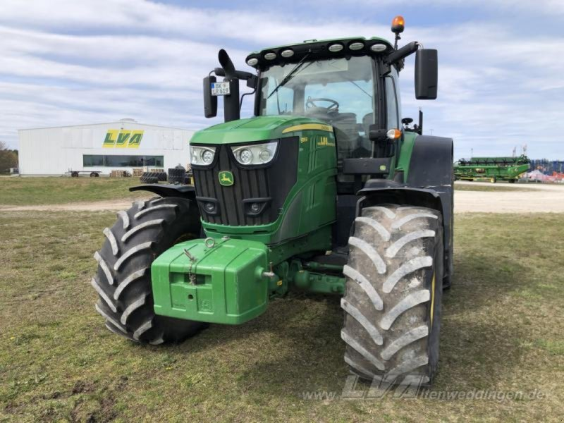 Traktor типа John Deere 6195R DirectDrive, Gebrauchtmaschine в Schopsdorf (Фотография 1)