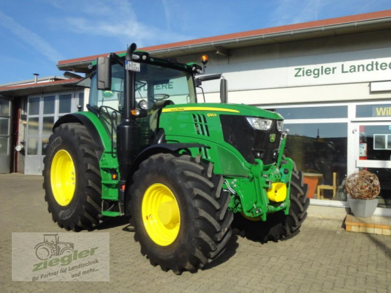 Traktor tipa John Deere 6195R, Neumaschine u Kandern-Tannenkirch (Slika 1)