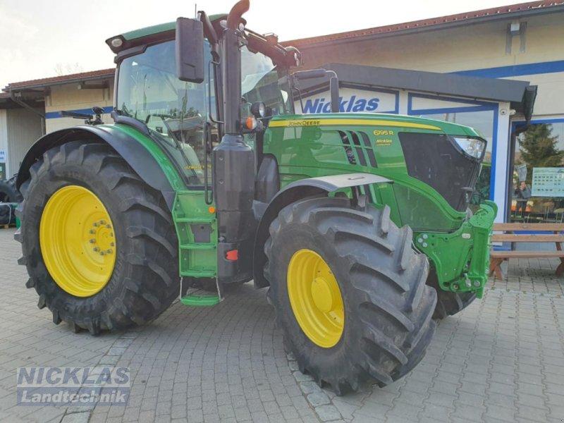 Traktor des Typs John Deere 6195R, Gebrauchtmaschine in Schirradorf (Bild 1)
