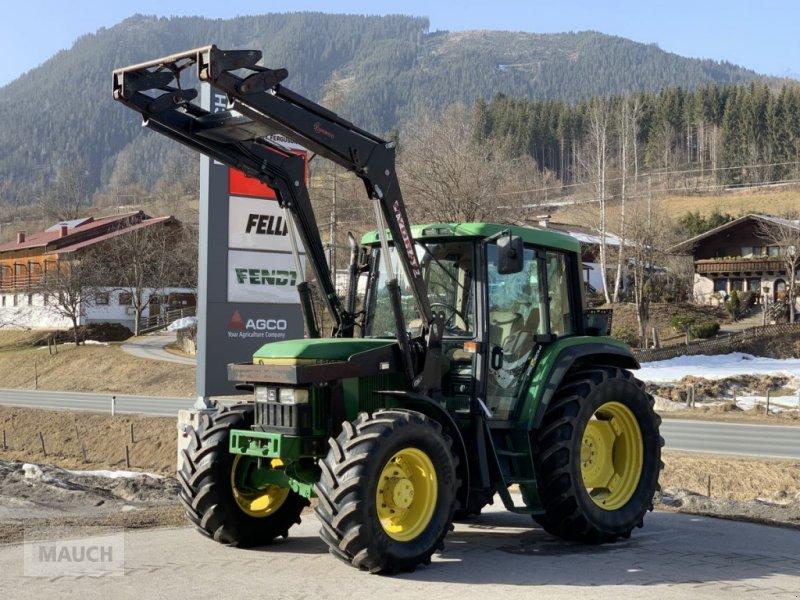 Traktor des Typs John Deere 6200 M + Hydrac FL, Gebrauchtmaschine in Eben (Bild 1)