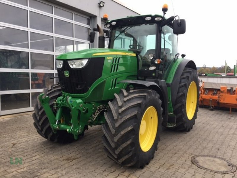 Traktor des Typs John Deere 6210 R Auto Powr, Gebrauchtmaschine in Eggenfelden (Bild 1)