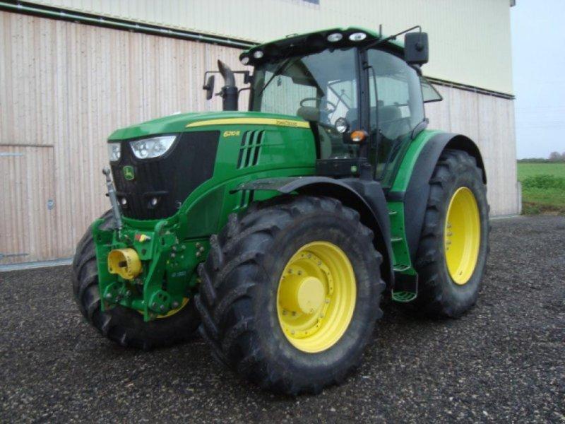 Traktor des Typs John Deere 6210 R Direct Drive, Gebrauchtmaschine in Windsbach (Bild 1)