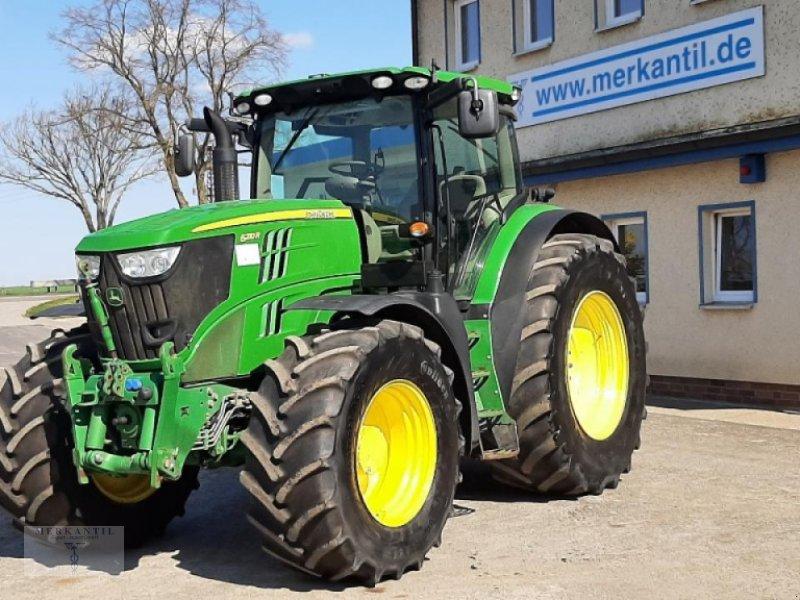 Traktor a típus John Deere 6210 R + FHy + FZW DirectDrive, Gebrauchtmaschine ekkor: Pragsdorf (Kép 1)