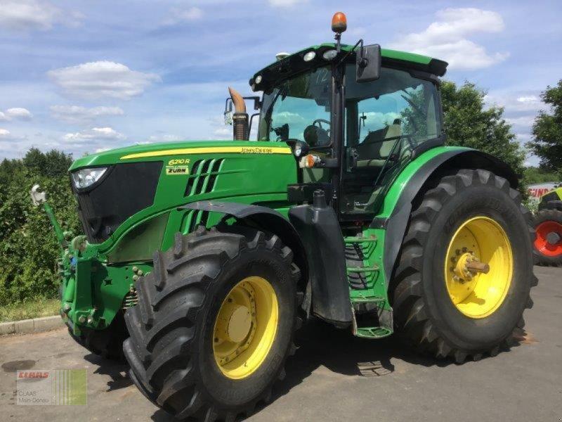 Traktor des Typs John Deere 6210 R, Gebrauchtmaschine in Aurach (Bild 1)