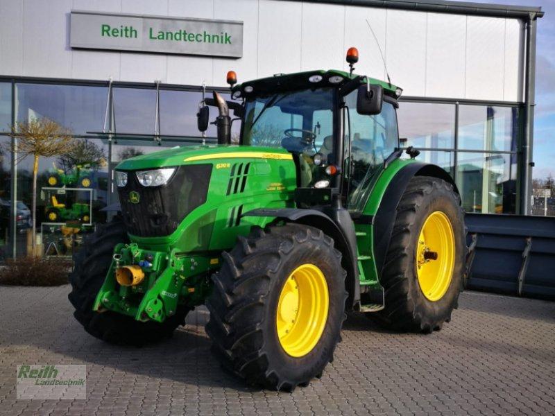 Traktor a típus John Deere 6210 R, Gebrauchtmaschine ekkor: Langweid am Lech  (Kép 1)