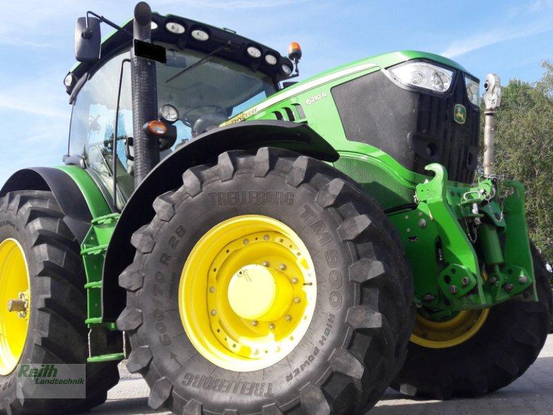 Traktor des Typs John Deere 6210 R, Gebrauchtmaschine in Siegenburg (Bild 1)