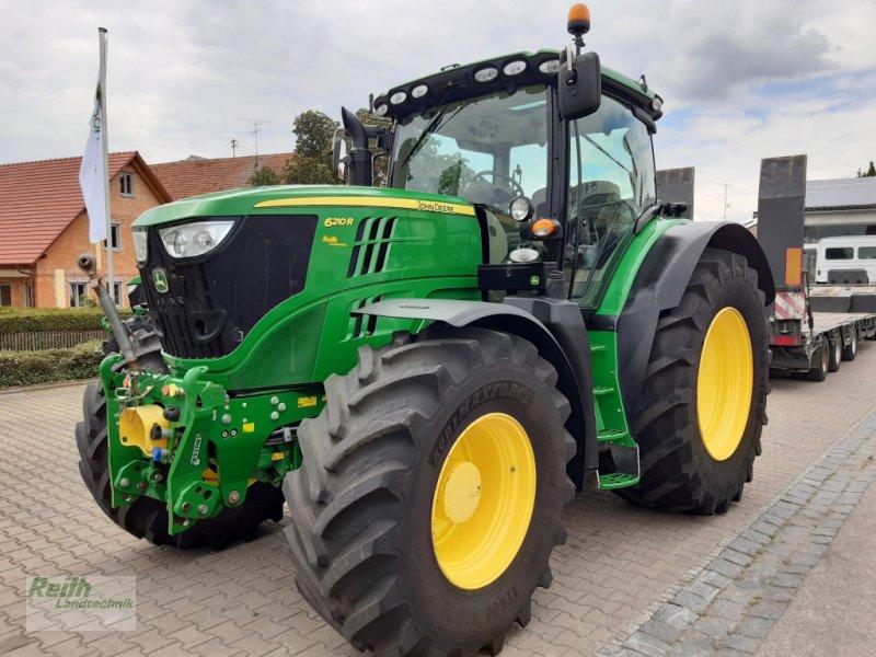 Traktor des Typs John Deere 6210 R, Gebrauchtmaschine in Wolnzach (Bild 1)