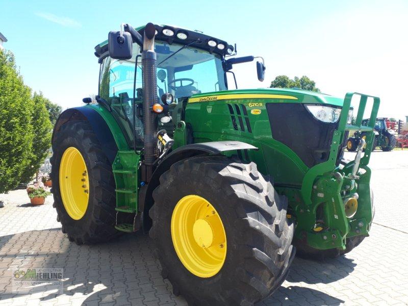 Traktor a típus John Deere 6210 R, Gebrauchtmaschine ekkor: Pollenfeld (Kép 1)
