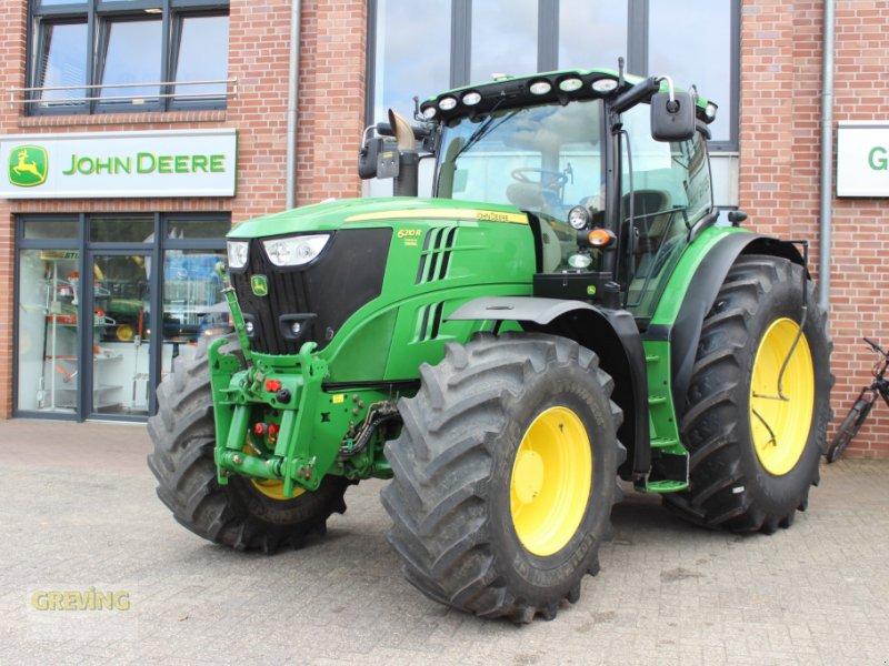 Traktor des Typs John Deere 6210 R, Gebrauchtmaschine in Ahaus (Bild 1)