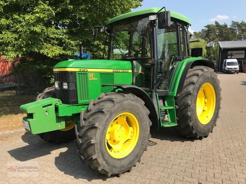 Traktor des Typs John Deere 6210 SE Allround **originale 820 Betr.-Std.**, Gebrauchtmaschine in Marl (Bild 1)
