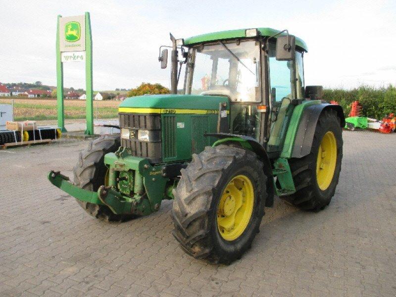 Traktor des Typs John Deere 6210 SE, Gebrauchtmaschine in Aislingen (Bild 1)