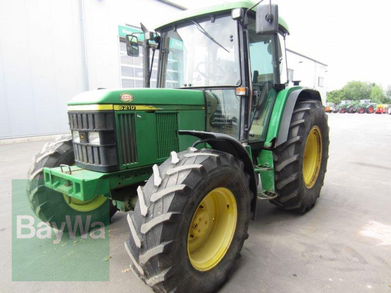 Traktor des Typs John Deere 6210, Gebrauchtmaschine in Großweitzschen  (Bild 1)