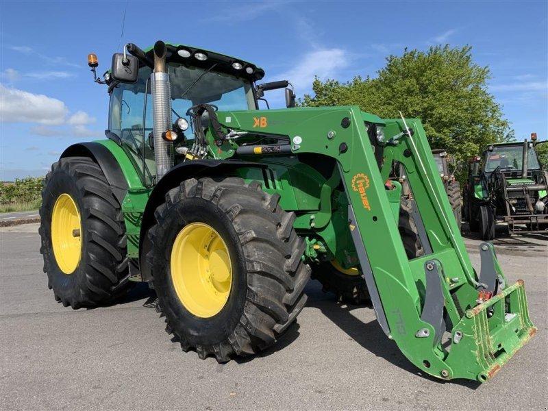 Traktor des Typs John Deere 6210R AUTOPOWER OG KUN 4600 TIMER!, Gebrauchtmaschine in Aalestrup (Bild 7)