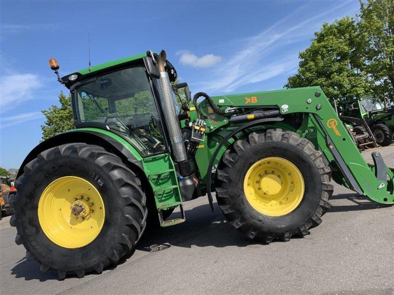 Traktor des Typs John Deere 6210R AUTOPOWER OG KUN 4600 TIMER!, Gebrauchtmaschine in Aalestrup (Bild 8)