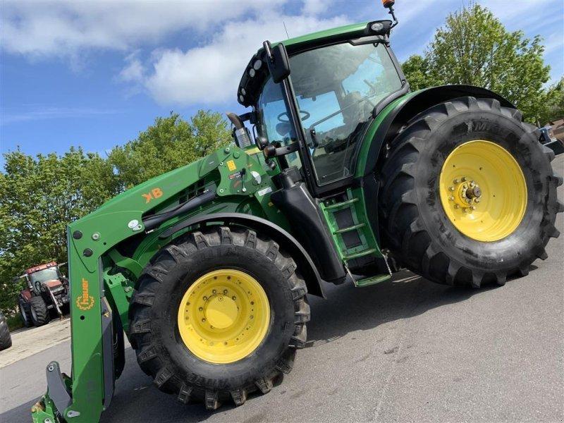 Traktor des Typs John Deere 6210R AUTOPOWER OG KUN 4600 TIMER!, Gebrauchtmaschine in Aalestrup (Bild 2)