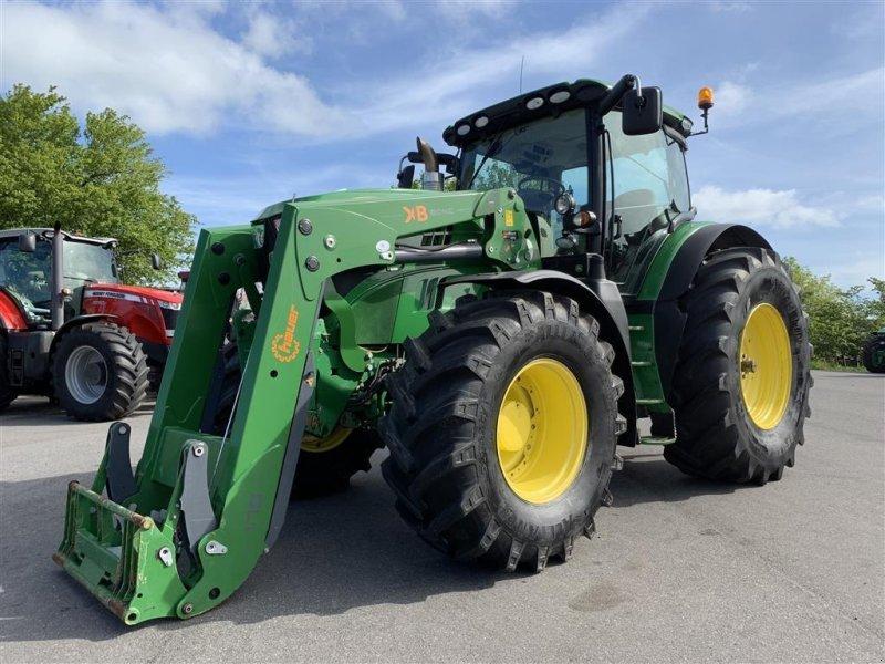 Traktor des Typs John Deere 6210R AUTOPOWER OG KUN 4600 TIMER!, Gebrauchtmaschine in Aalestrup (Bild 1)