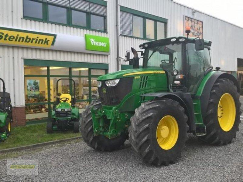 Traktor a típus John Deere 6210R DirectDrive 50km/h, Gebrauchtmaschine ekkor: Barsinghausen OT Groß Munzel (Kép 1)