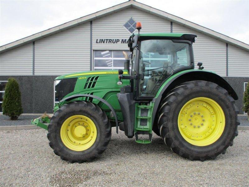 Traktor tip John Deere 6210R Med frontlift, Gebrauchtmaschine in Lintrup (Poză 1)