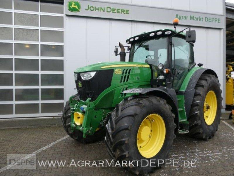 Traktor a típus John Deere 6210R, Gebrauchtmaschine ekkor: Bad Lauterberg-Barbis (Kép 1)