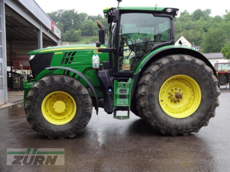 Traktor типа John Deere 6215 R DirectDrive 50kmh, Neumaschine в Schoental-Westernhausen (Фотография 1)
