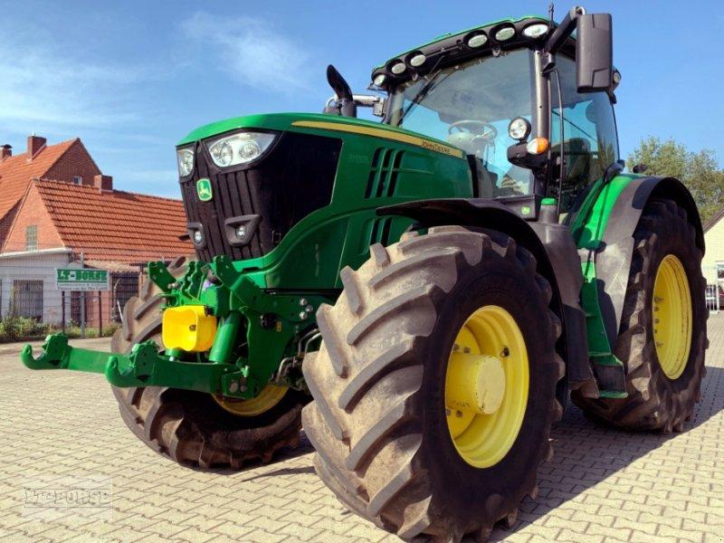 Traktor typu John Deere 6215R Allrad **FKH & FZW**, Gebrauchtmaschine w Bramsche (Zdjęcie 1)