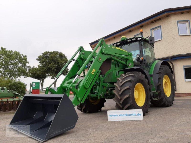 Traktor типа John Deere 6215R + FZW + FL, Gebrauchtmaschine в Pragsdorf (Фотография 1)