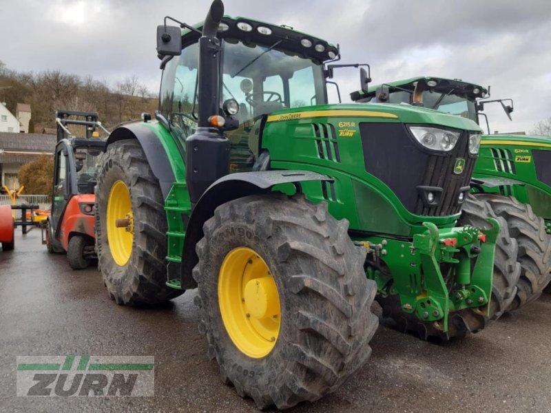 Traktor des Typs John Deere 6215R m. PowerGard, Gebrauchtmaschine in Schoental-Westernhausen (Bild 1)