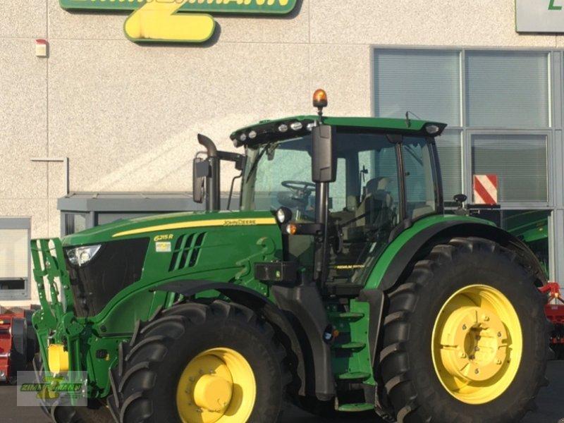 Traktor des Typs John Deere 6215R m.PP + 2250h, Vorführmaschine in Euskirchen (Bild 1)