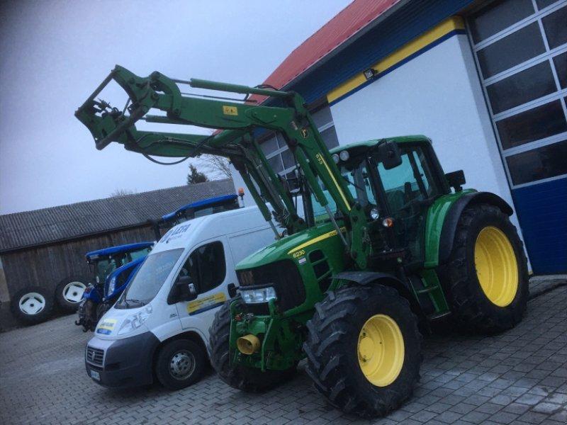Traktor типа John Deere 6230 AutoQuad Premium FL DL FH FZ gefederte Vorderachse, Gebrauchtmaschine в Amerbach (Фотография 1)