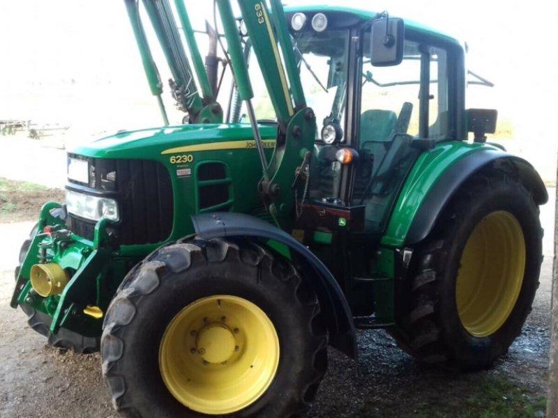 Traktor типа John Deere 6230 AutoQuad Premium FL DL FH FZ gefederte Vorderachse, Gebrauchtmaschine в Amerbach (Фотография 13)