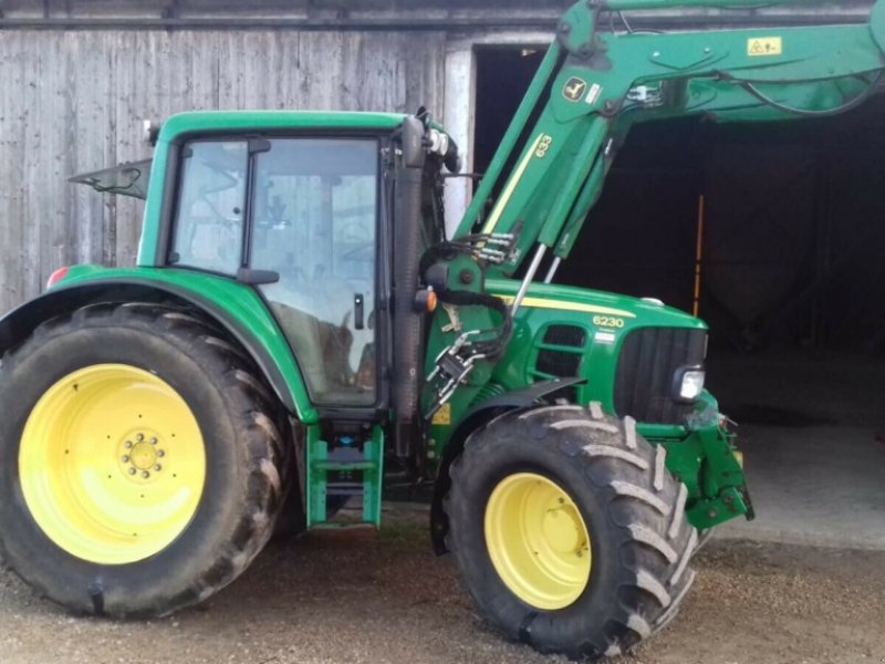 Traktor типа John Deere 6230 AutoQuad Premium FL DL FH FZ gefederte Vorderachse, Gebrauchtmaschine в Amerbach (Фотография 14)