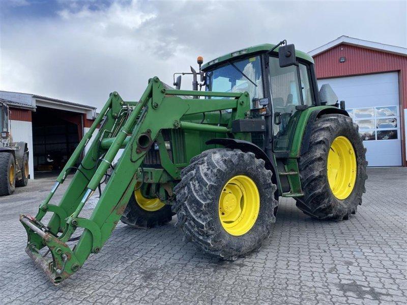 Traktor типа John Deere 6310 MED AFFJEDRET FORAKSEL OG GODE DÆK!, Gebrauchtmaschine в Aalestrup (Фотография 1)