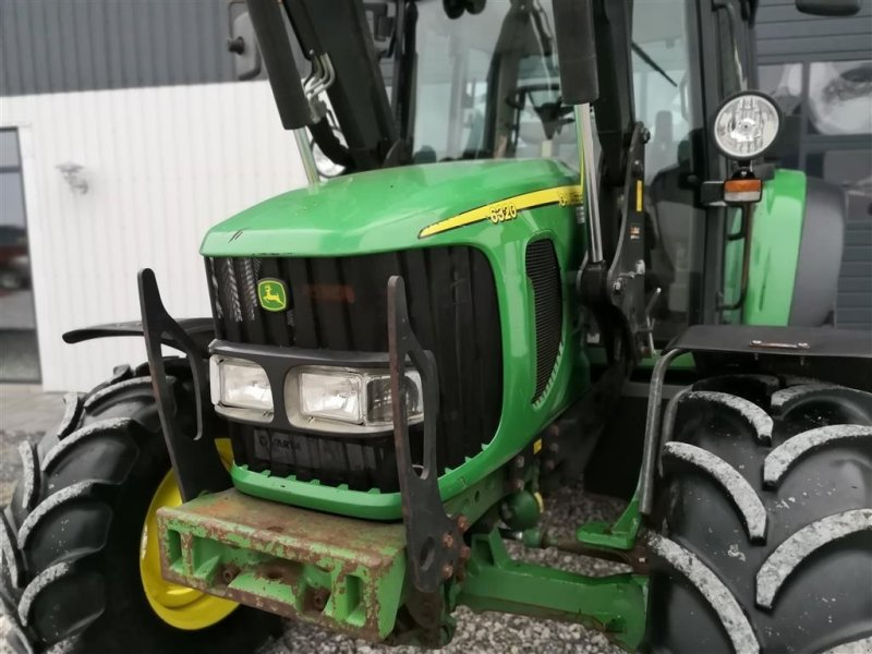 Traktor типа John Deere 6320 PowerQuad Med Nyere Hauer Frontlæsser, Gebrauchtmaschine в Thorsø (Фотография 8)