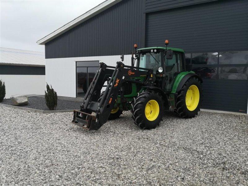 Traktor типа John Deere 6320 PowerQuad Med Nyere Hauer Frontlæsser, Gebrauchtmaschine в Thorsø (Фотография 1)