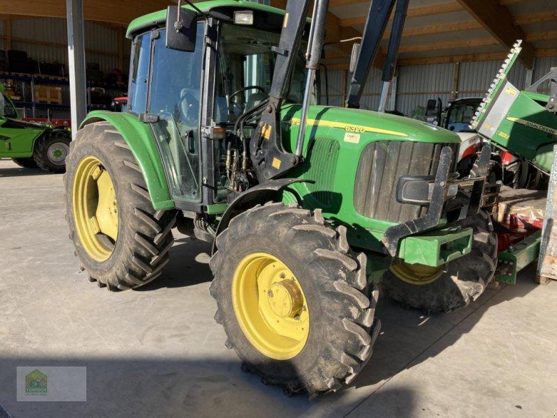 Traktor des Typs John Deere 6320 SE mit Frontlader, Gebrauchtmaschine in Salsitz (Bild 1)
