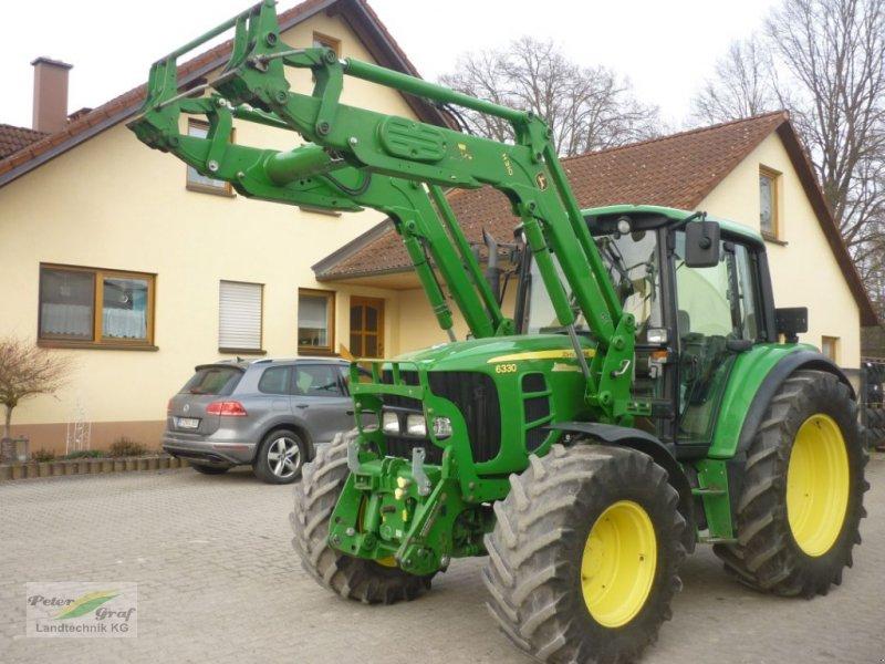 Traktor des Typs John Deere 6330 Plus, Gebrauchtmaschine in 91257 Pegnitz-Bronn (Bild 1)